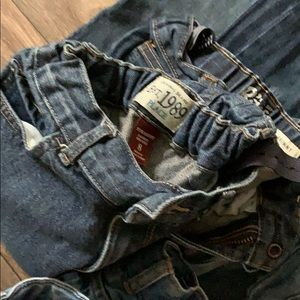 Old Navy Bottoms - Lot of Denim jeans  Size 8. (One pair is a size 7)